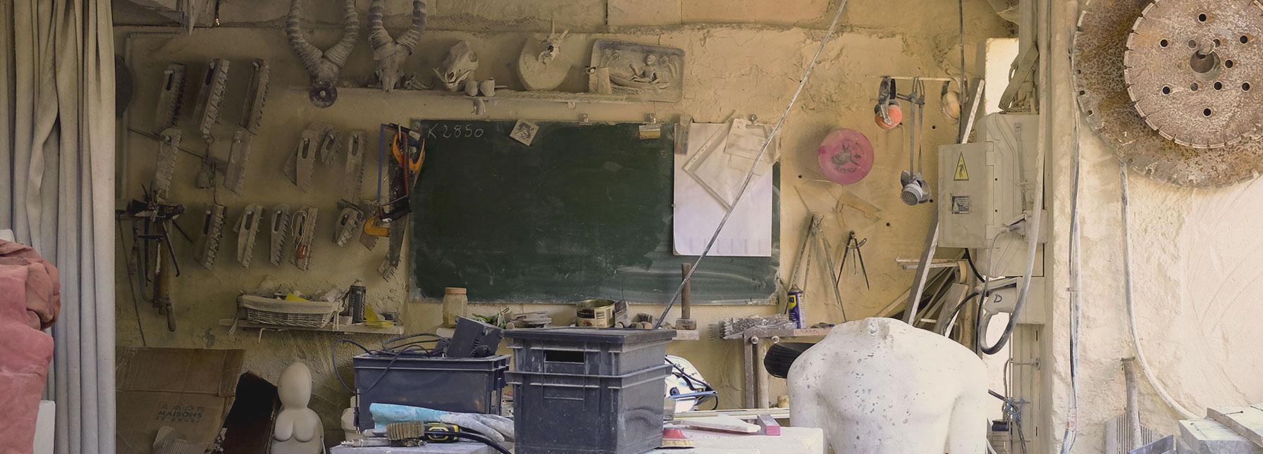 Atelier tailleur de pierre Restinclières
