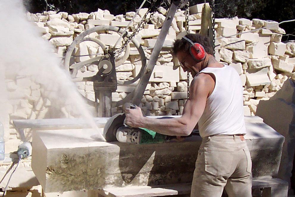 Édouard Labèque - Tailleur de pierre